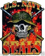 US NAVY SEALS SKULL BUMPER STICKER TOOLBOX STICKER
