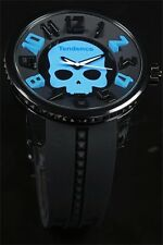 Tendence Crystal Head Skull Limited Edition Black/Blue