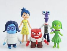 5 pcs/set Inside Out toys PVC Figure Anger Joy Fear Disgust Sadness gifts