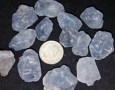 Large Blue Celestine Celestite Raw Natural Healing Crystal Gemstone Reiki Chakra