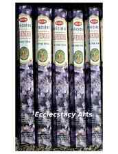 Hem Precious Lavender Incense 5 Hexagon x 20 Sticks = 100 Incense Sticks Bulk