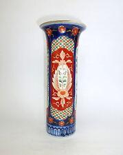 Jarrón de porcelana Imari Japón Tiempo de Meiji- Florero