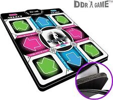 "Dance Dance Revolution DDR Super Deluxe PS1 / PS2 dance pad w/1 in"" foam"