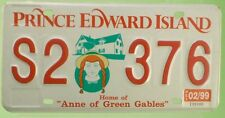 Targa USA License Plate Prince Edward Island Home of Anne Originale No Edicola