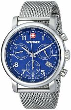 Wenger Men's 01.1043.101 'Urban Classic Chrono' Stainless Steel Watch