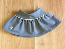 American Girl doll skirt only from Tennis Skirt Outfit gray yellow retired