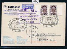 97903) LH SF Berlin - Wien 21.3.2002, Kte MeF