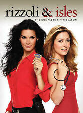 Rizzoli & Isles: The Complete Fifth Season 5 Five (DVD, 2015, 4-Disc Set) NEW!