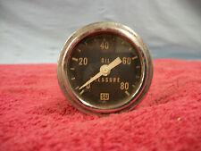 Stewart Warner 80lb Oil pressure gauge