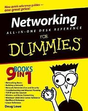 Networking : All-in-one for Dummies by Doug Lowe (2003, Paperback)