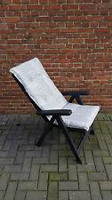 Madison Hochlehner Gartenmöbel Auflagen Sessel Polster Luxuskissen Embossed Grey