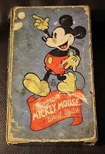 1930's MICKEY MOUSE INGERSOLL WATCH BOX - NO WATCH