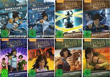 8 DVDs * Die Legende von Korra - Buch 1 - 4 ( 1.1 - 4.2 ) Komplett # NEU OVP +