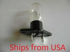 New Microwave Oven Light Bulb Lamp T170 240V 25W CL827 W/ 6.3mm Connectors Bulb2