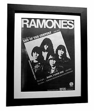 RAMONES+End Century+Baby I Love+POSTER+AD+ORIGINAL 1980+FRAMED+FAST GLOBAL SHIP