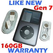 Apple IPOD CLASSIC - 7th Generation / 7G - 160GB - Grey - Refurbished + New HDD
