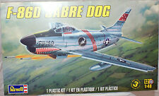 Revell #5868 F-86D SABRE DOG  1/48 scale Plastic plane Model Kit w/pilot figure