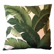45x45cm Tommy Bahama Green & White Palm Leaf Sway Outdoor Cushion Cover