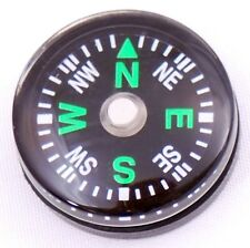 Wholesale lot 24pcs 20mm Compasses Dial Small Mini Survival Compass Green