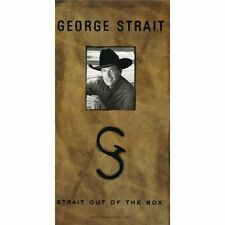 GEORGE STRAIT STRAIT OF OUT THE BOX (1995) BRAND NEW SEALED 4CD LONGBOX DIGIPACK