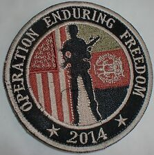 ECCUSSON PATCH USA AFGHANISTAN OPERATION ENDURING FREEDOM BAGRAM TRES RARE