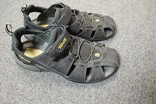 Men's Brown Teva leather Sandals  Shoes 12