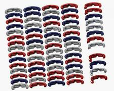 New Larue Tactical Rail Mounting Index Clips Patriot  Red White Blue 72pcs