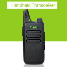 MINI-handheld walkie talkie WLN UHF 400-470 MHz 2-way Amature Ham Radio For Gift
