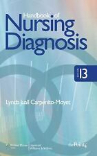 Handbook Of Nursing Diagnosis By Lynda Juall Carpenito-Moyet Editions 13