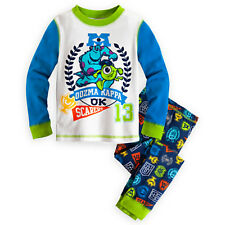 Disney Monsters University Pajamas for Boys- Size 6 - NWT