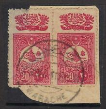 TURKEY 1915 MARACHE CANCEL ON PAID 10PARA OTTOMAN STAMP MARACHE IS A SMALL VILLG