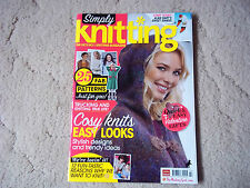 SIMPLY KNITTING MAGAZINE - ALAN DART TOY KNIT - SWAN SWEETHEARTS - ISSUE 89