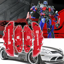 Transformers Style Brembo Disc Brake Caliper Covers 4pcs Front and Rear rms02