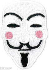 "V for VENDETTA PATCH 6.5CM x 4.5CM (2 1/2"" x 1 3/4"")"