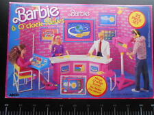 Mattel Dream House Clock News Magic Change Arco Barbie 7745