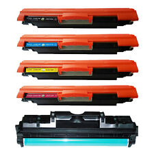 CE310A CE311A CE312A CE313A Toner + CE314A Drum For HP LaserJet Color CP1025nw