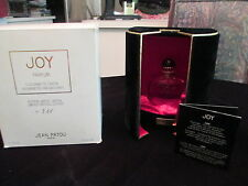 VINTAGE JOY PERFUME BY JEAN PATOU  IN BACCARAT BOTTLE LIMITED EDITION
