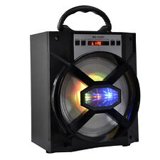 Outdoor Bluetooth Wireless Portable Speaker Super Bass w/ USB/TF/AUX/FM Radio