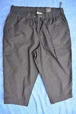 AUTOGRAPH BLACK Cotton Crop Pants Size14 NEW rrp$39.99 COMFORT Elastic Waist.