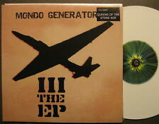 "MONDO GENERATOR ""III THE EP"" 10"" MAXI SINGLE LP - WHITE VINYL - FOC"