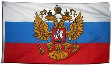 Drapeau RUSSIE AVEC BLASON russe Qualité TOP 90x150cm drapeaux