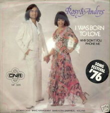 EUROVISION 1976 45 TOURS HOLLANDE ROSY & ANDRES