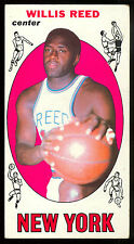 1969 70 TOPPS BASKETBALL #60 WILLIS REED EX COND RC N Y NEW YORK KNICKS ROOKIE