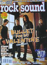 ROCK SOUND 120 2008 Bullet For My Valentine Afterhours Dufresne Meshuggah Tiamat