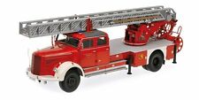Minichamps 109031081 - 1/18 Mercedes-Benz L 6600 Aerial Ladder-dl30-nuevo