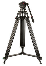 Kenro Twin Tube Pro Video Tripod + Fluid Head and Case #VT103 (UK Stock) BNIB