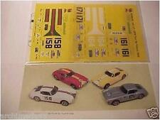DECALS 1/43 FERRARI 250 LWB TOUR DE FRANCE 1959