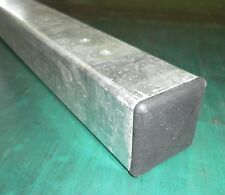 MMTPP Metal POST GALVANISED for Gate or Fence 50x50x1400mm Concrete-in iron