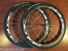 ABLOCK CARBON 50 MM  700C CLINCHER SHIMANO HUB WHEEL SET MICHELIN PRO 4 TIRES
