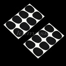 16pcs Mouthpiece patches pads cushions Alto/Tenor Saxophone Mouthpiece Black